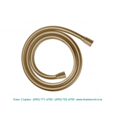 Душевой шланг Isiflex 1,6 м, цвет шлифованная бронза, Hansgrohe 28276140