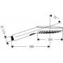 Ручной душ Raindance Select 120 Air 3jet ½ хром Hansgrohe 26520000