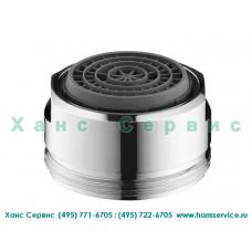 Аэратор с системой QuickClean 24х1 для смесителей на раковину Ecosmart Hansgrohe 13185000