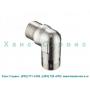 Подводящие уголки для соединения с водопроводом душевых панелей Pharo Hansgrohe 25967000