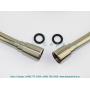 Душевой шланг 1,6 м Isiflex Axor Steel, цвет под сталь Hansgrohe 28276800